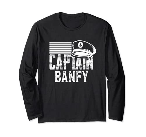 Capitán Banfy - Capitán de Vela Sombrero de Barco Propietario de Barco Manga Larga