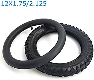 YunShuo Inner Tube Tire Wheel Set 12X1.75/2.125 Stroller Child Bicycle Bike Fits all 12