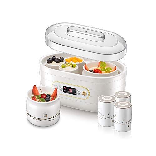 For Sale! DRLYI Yogurt Machine Home Small Homemade Yogurt Fermentation Automatic Ceramic Cup Rice Wi...