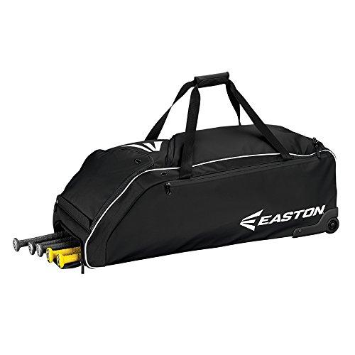 EASTON E610W Bat & Equipment Wheeled Bag, Black