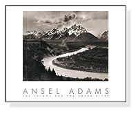 ポスター アンセル アダムス The Tetons and the Snake River(エンボスマーク入)