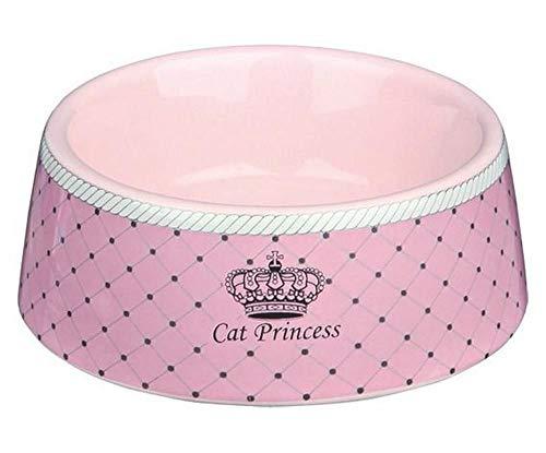 Gatto Principessa Ciotola Di Ceramica Rosa 0,18 L / 12 Cm, Trixie, Ceramica, Ciotole, Gatti