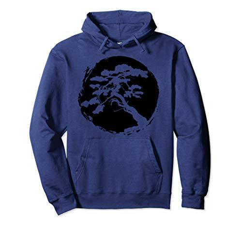 Bonsai Tree Japanese Zen Master Gift Pullover Hoodie