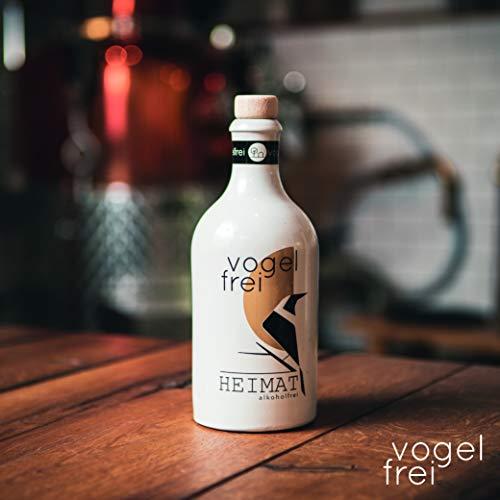 VOGELFREI alkoholfreie Gin Alternative mit 21 fruchtigen Botanicals aus der HEIMAT Destille wie Zitronenverbene, Thymian, Wiesensalbei und Wacholder - Handcrafted (1 x 0,5l) - 7
