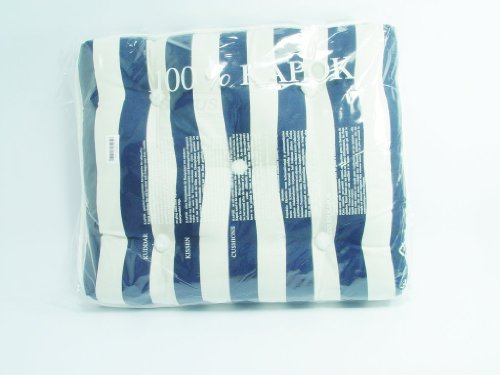 Kapok Cushion - Blue White by TALAMEX