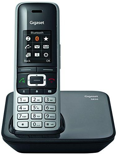 Gigaset S850 Teléfono inalámbrico DECT/Gap inalámbrico