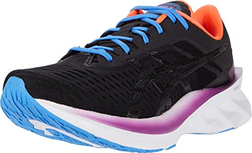 ASICS Women's NOVABLAST Running Shoes, 8.5M, Black/Black