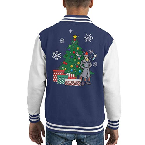 Cloud City 7 Inspector Gadget Around The Christmas Tree Kid's Varsity Jacket