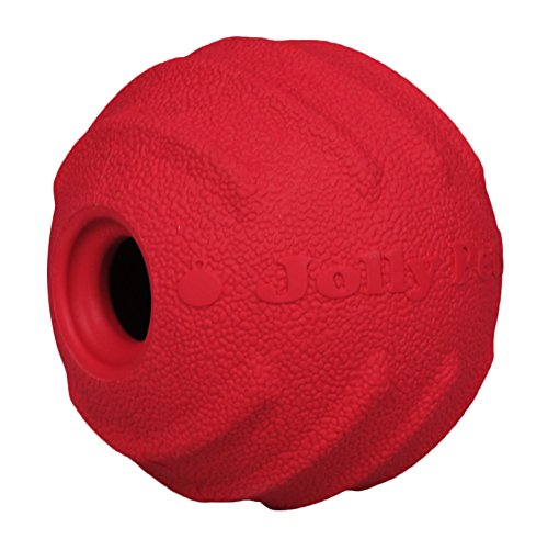 Jolly Pets Tuff Tosser Bouncing Ball Tog Toy/Treat Holder, 4 Inches,...