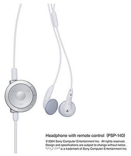 PSP 専用リモコン付きヘッドフォン (PSP-1000シリーズ専用) (PSP-140 (W) )