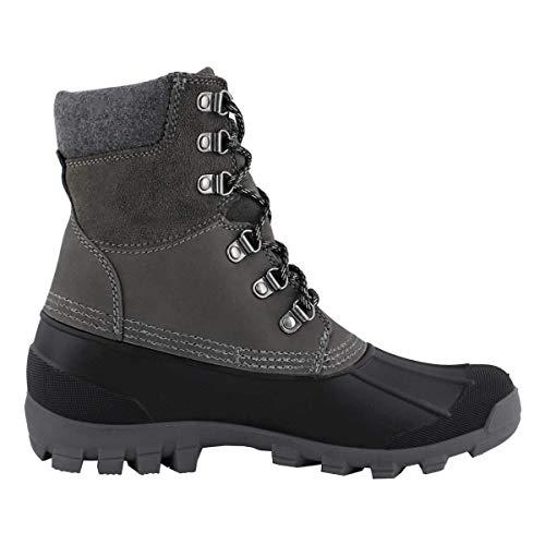 Kamik New Men's Hudson 5 Winter Boot Charcoal 8