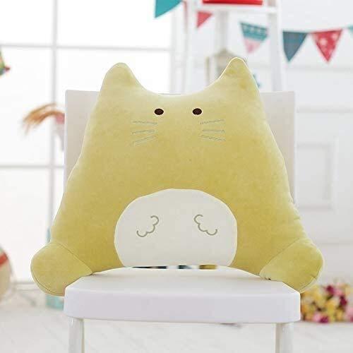 FEIFEI Dulce Gato Peluche de Peluche Suave Dibujos Animados Animal Gato Peluche muñeca sofá Almohada Amigos Regalo de cumpleaños Juguete cumpleaños 50 cm