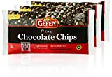 Gefen Vegan Semi Sweet Real Dark Chocolate Chips, Dairy Free 9oz (3 Pack),Nut Free, Lactose Free, Kosher, Great for Baking