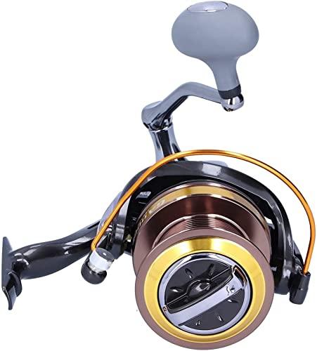 Tik LP Carrete, Carrete de Pesca Engranajes de Pesca Rueda de Pesca de Metal Rueda de Pesca for Mares Poco Profundos Lagos, ríos (Color : GA10000)