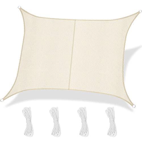 YunYun Shade Sails sombrilla Impermeable al Aire Libre Cubierta de Vela Bloque de sombrilla para toldo de jardín toldo de Vela Impermeable