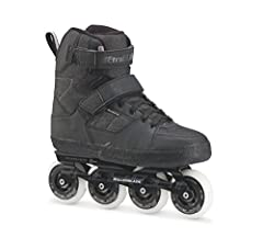 Closure: Velcro power strap on the shaft, 45°, laces. Inner shoe: performance liner training insole. Hot Rod extruded aluminium (max.. 4x80mm), 243mm, racing axles, adjustable side adjustment (spacer 165mm). Wheels: rollerblade 4 x 80mm / 82A. Beari...