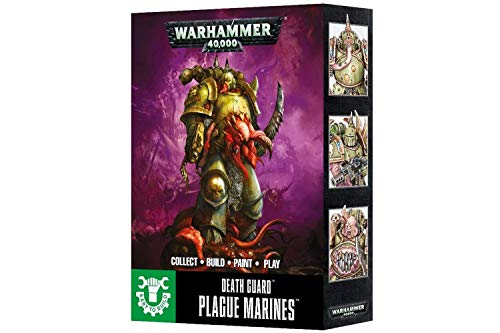 Games Workshop Easy To Build: Death Guard Plague Marines