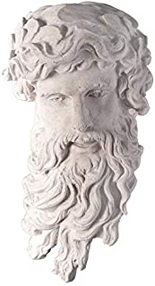 Design Toscano Greek God of the Sea: Poseidon Wall Sculpture