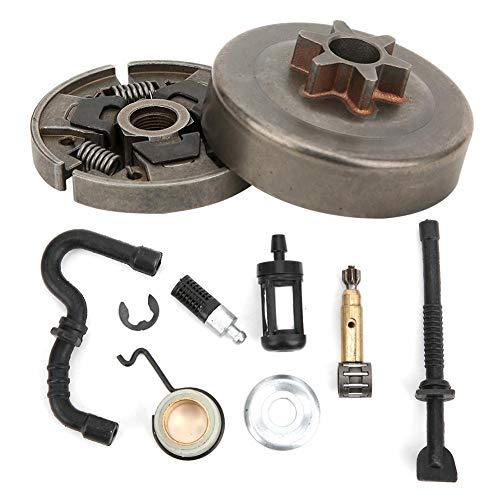 【𝐇𝐚𝐩𝐩𝒚 𝐍𝐞𝒘 𝐘𝐞𝐚𝐫 𝐆𝐢𝐟𝐭】Embrague de motosierra con cojinete de agujas, filtro de aceite, repuestos de metal, filtro de combustible conveniente para STIHL MS170 180210230250