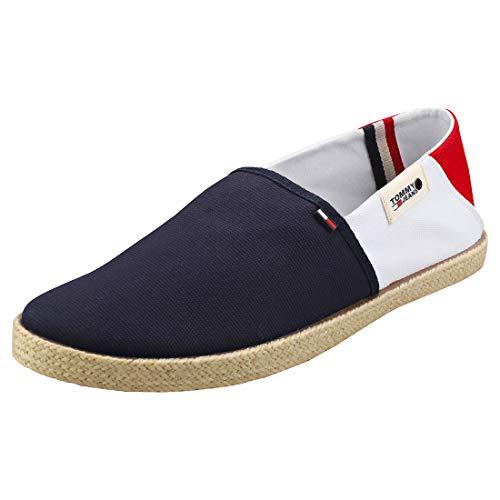 Tommy Jeans Herren Summer Shoe Mokassin, Weiß (White Ybs), 43 EU