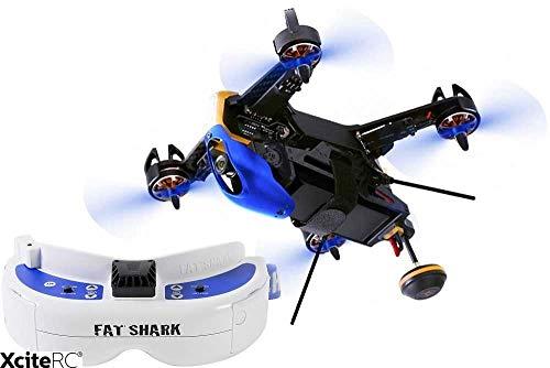 XciteRC 15003990–FPV Quadrirotore F210Racing 3D RTF Drone, Nero