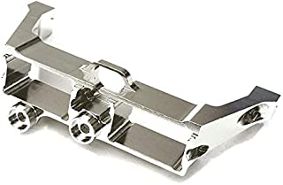 Integy RC Model Hop-ups C28085GUN Billet Alloy Front Steering Servo Mount for Traxxas TRX-4 Scale /& Trail Crawler