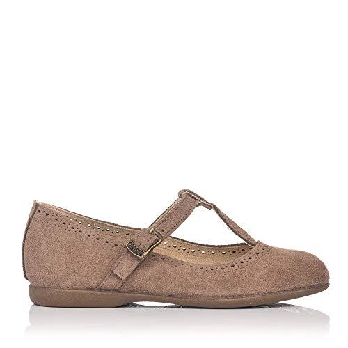 BATILAS 15430 Zapato Vestir Serraje NIÑAS Taupe 29