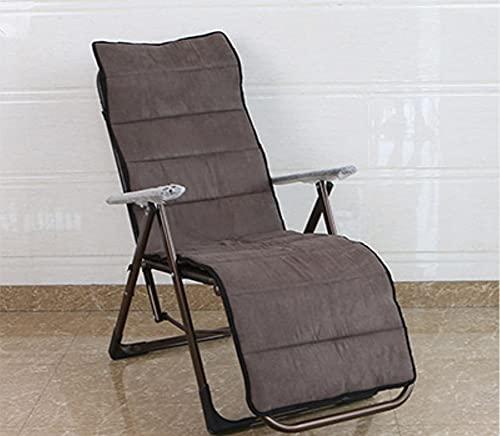 WUWEI Cojín grande de 2/3 plazas para tumbonas de jardín al aire libre para muebles de jardín y silla de columpio cojín largo antideslizante para tumbonas de interior suave para sofá de interior
