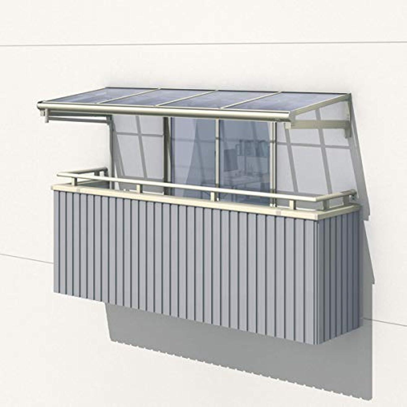 寝る競争かび臭い三協アルミ レボリューZ 0.5間×2尺 1500タイプ/関東間/1?2?3階用F型/柱なし式/単体 *雨トイは3m×2本を手配します 『テラス屋根』 ポリカーボネート ブロンズ