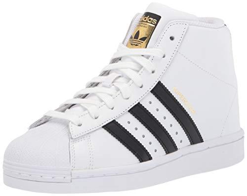 adidas Originals Superstar Up Tenis para mujer, Blanco (blanco/negro/dorado metálico), 36 EU