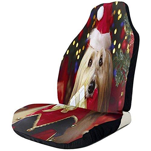 Fall Ing Kerstmuts, schattig, voor honden en autostoelen, geschikt voor de meeste auto's.
