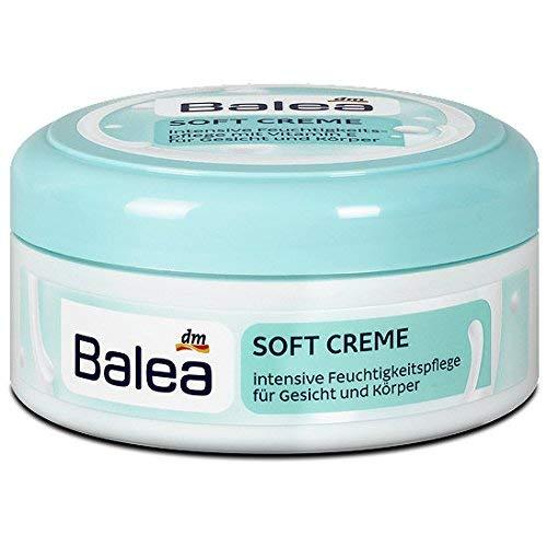Balea Soft Creme für Gesicht und Körper mit Vitamin E, 250 ml