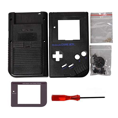 Timorn Ersatzgehäuse Shell Tasche für Gameboy GB Konsole (Schwarz)