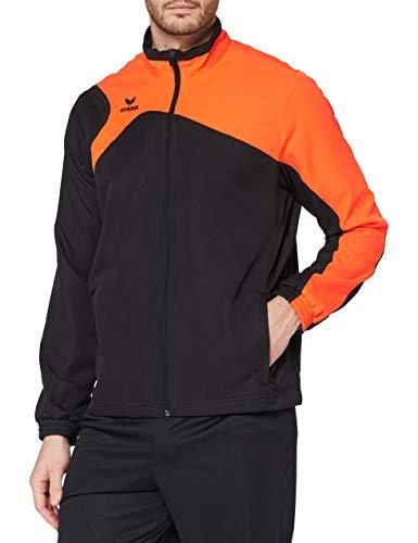 Erima Club 1900 2.0 Veste de présentation Homme, Noir/Orange, FR : M (Taille Fabricant : M)