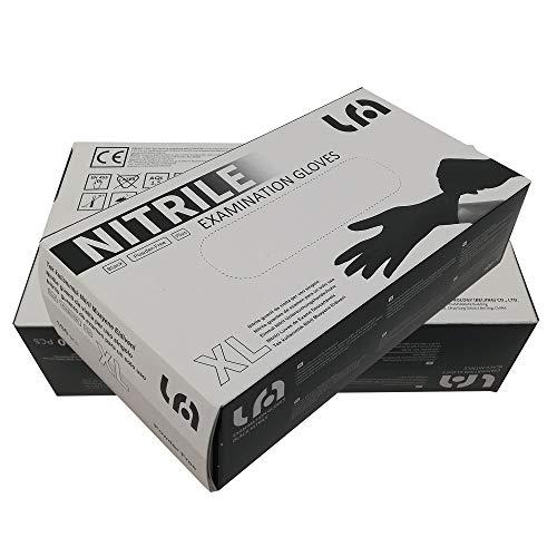 Guantes de Nitrilo sin polvo RF05 Caja de 100pc Azul.Talla S, Máxima protección, suavidad y elasticidad. Indicado para hospitales, alimentación, automoción, etc.…