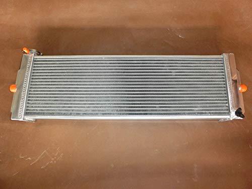 610 x 198 x 56 mm Universal-Wärmetauscher aus Aluminium Luft zu Wasser Ladeluftkühler Anwendungen Turbo für Silverado Mustang Cobalt 61 x 20,3 x 6,3 cm