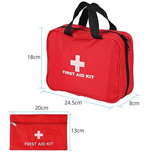 Botiquin de Primeros Auxilios 242 Articulos Estuche Medico de Seguridad para Supervivencia