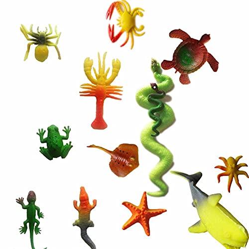 ZHANGHAN 12 Animales De Criaturas Marinas Que Crecen En Agua, Magic Grow...