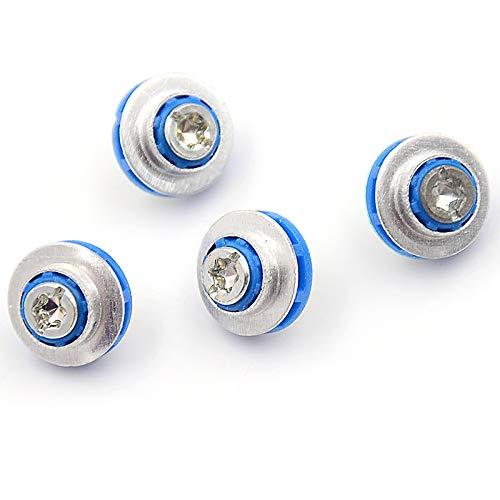 GSJD 4pcs Neue Schrauben for HP 3.5 HDD DC7800 DC7900 8000 8100 Z400 Z600 Schrauben Isolation Grommet 450712-001 Mute Montage