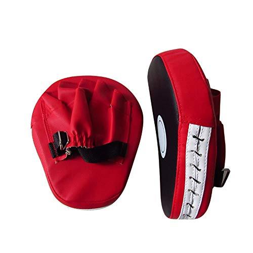 HCCX Karaté Muay Thai Coup De Pied Kit-Sports Fitness Gant Rouge Mat 1Pièce Gants De Boxe D'entraînement Mise Au Point Cible Gants Gant Mat