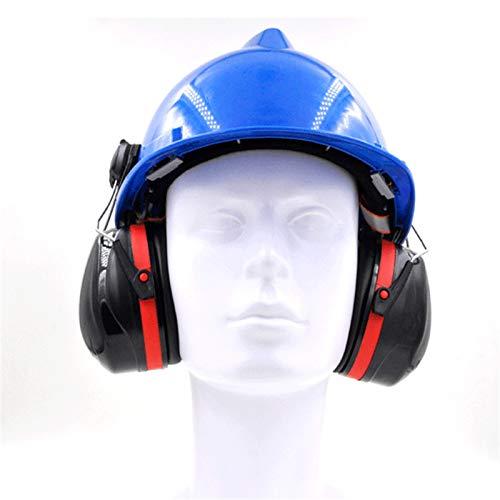 FIRECLUB - Almohadillas protectoras para los oídos, tipo casco, a prueba de ruido, a prueba de ruido, orejeras, cascos, cascos, minas de carbón
