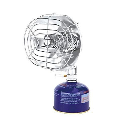 Zhouzl Productos de Camping BRS-H22 Acampar al Aire Libre la Cabeza del Doble de Gas de calefacción Estufa Pesca Calentador Horno de Cocina Sin Cilindro de Gas Productos de Camping