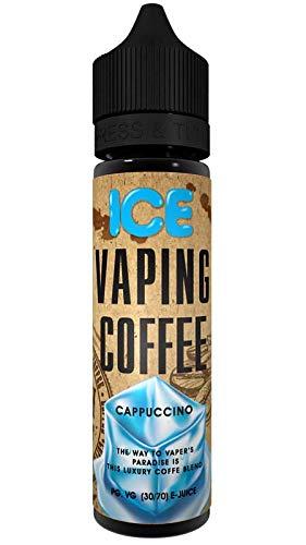 Cappuccino Ice (50ml) Plus Vaping Coffee e Liquid by VoVan Nikotinfrei