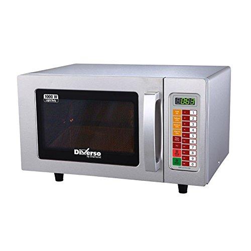Four micro-ondes professionnel inox électronique 1000 W, 25 litres