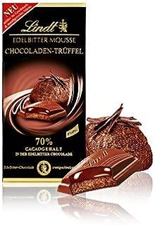 2x Lindt Edelbitter Mousse Chocoladen-Trüffel 150g (German Import)