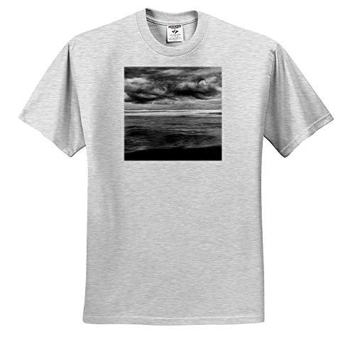 ダニタデリモントキャノンビーチオレゴンキャノンビーチ太平洋を跨ぐ嵐の雲Tシャツ