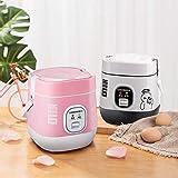Wenhua Mini Boîte À Lunch Cuiseur À Riz, Famille Adaptée pour 1-3 Personnes Peut Ragoût De Soupe, Chauffer Capacité Portable 1.2L,