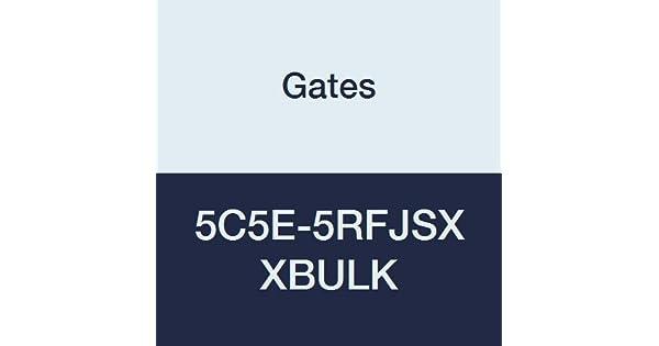 Dual Seat Female JIC 37//SAE 45 Flare Swivel 1//4 ID Pack of 300 Steel Gates 5C5E-5RFJSX XBULK Field Attachable for C5E Hose 1//4 ID Pack of 300