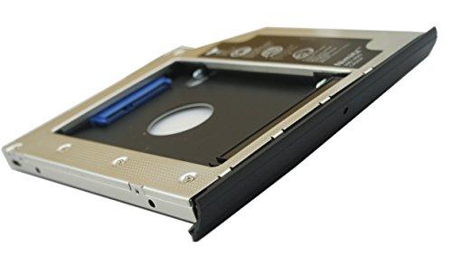 Nimitz HDD SSD Festplatten-Adapter für HP EliteBook 2560p / 2570p, mit Blende