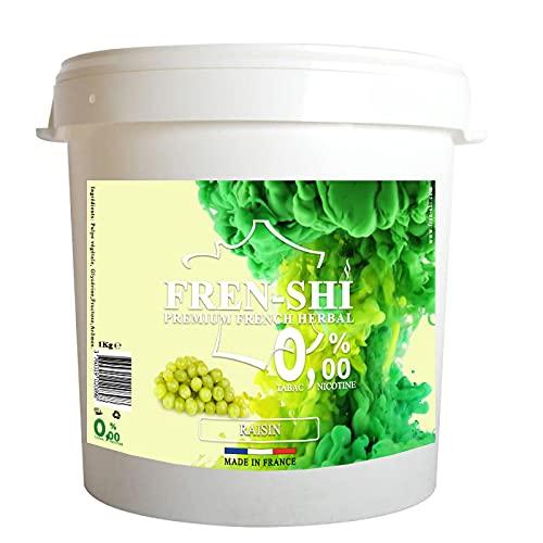Goût Chicha Sans Tabac - Pot de 1 Kg (Raisin)